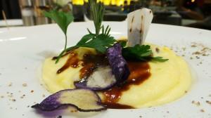 Parmentier de chevreuil aux cèpes, sauce poivrade (29.-)
