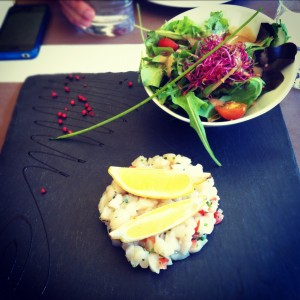 tartare saintjacques