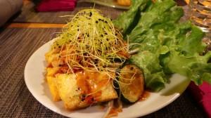 Délices de tofu et courgette (13.-)
