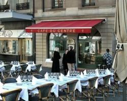Café du Centre sur la place du Molard en pleins centre ville