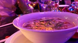 Soupe coco citronnelle et crevettes