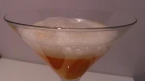 Cromesquis de foie gras, courge muscade (12 euros)