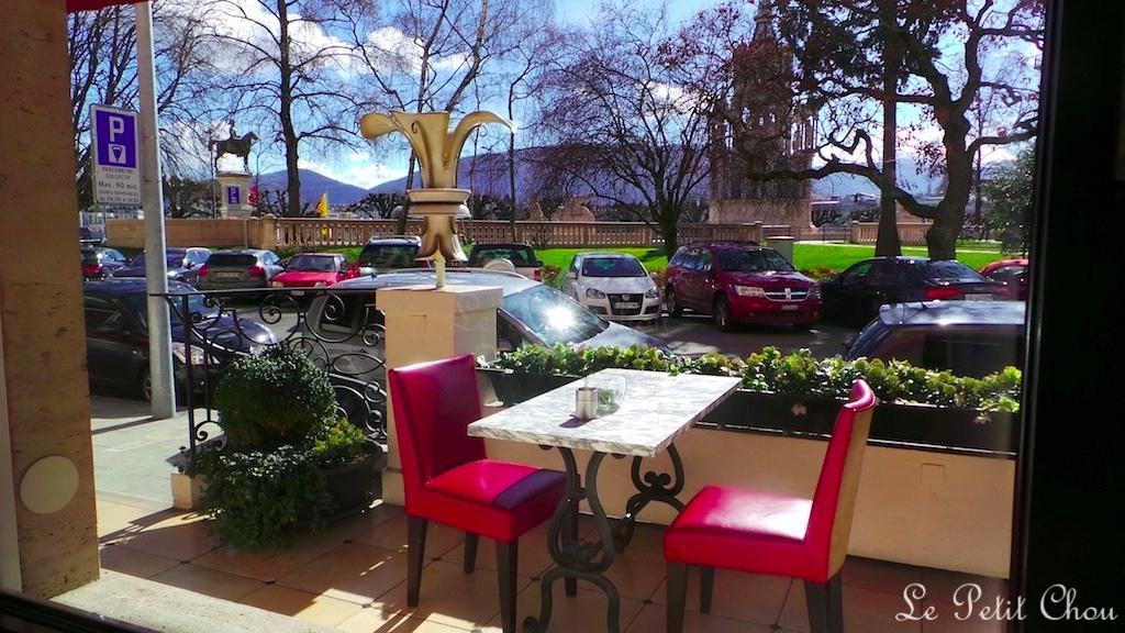 Le restaurant le jardin de l 39 h tel richemond gen ve le for Le jardin geneve