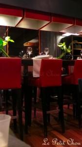 VertigO, restaurant étoilé au bord du lac Léman